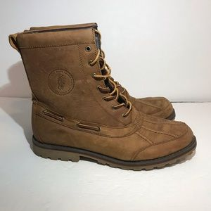 Polo Ralph Lauren Whitsand Boots Mens 11 D Brown